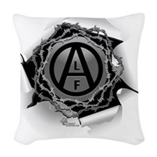 alf-white-01 Woven Throw Pillow