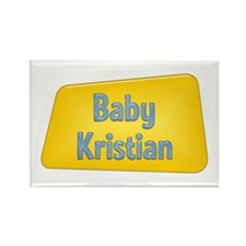 Baby Kristian Rectangle Magnet (100 pack)