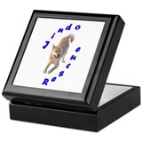 Unique Jindo Keepsake Box
