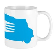 FoodTruck_Side_Fork_Blu_Top Coffee Mug