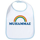 MUHAMMAD (rainbow) Bib
