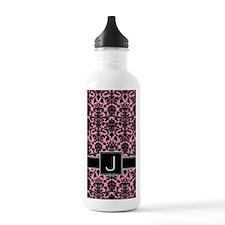 j_monogram_iphone_dama Water Bottle