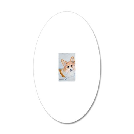 12x9 iphone 20x12 Oval Wall Decal