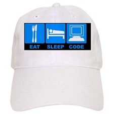 Eat-notecard Baseball Cap