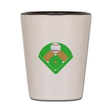 Lets Play Two Baseball T-Shirts and Gif Shot Glass