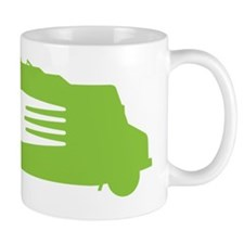 FoodTruck_Side_Fork_Grn_Top Coffee Mug