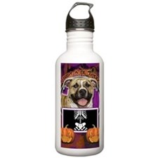 LilSpookyPitbullTigger Water Bottle