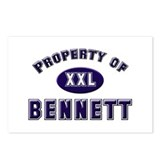 Property of bennett Postcards (Package of 8)