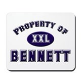 Property of bennett Mousepad