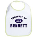 Property of bennett Bib