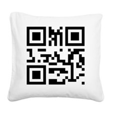 SuckItNerd Square Canvas Pillow