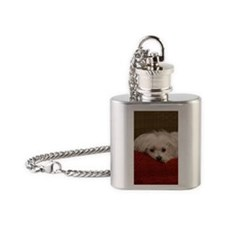 MalteseJournal Flask Necklace