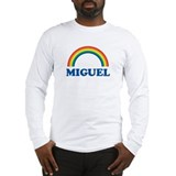 MIGUEL (rainbow) Long Sleeve T-Shirt