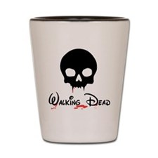 Walking Dead Shot Glass