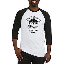 LEROY_black Baseball Jersey