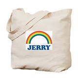 JERRY (rainbow) Tote Bag