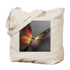 Multicolored Butterfly Tote Bag