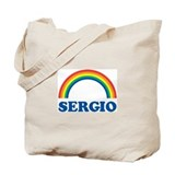 SERGIO (rainbow) Tote Bag