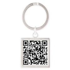 If You Can Read This, Youre a Nerd Square Keychain