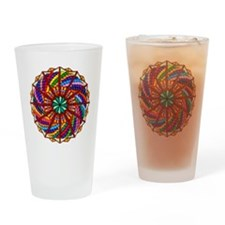Essence of Being Mandala #2 Drinking Glass