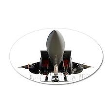 F-15 underside.gif 35x21 Oval Wall Decal
