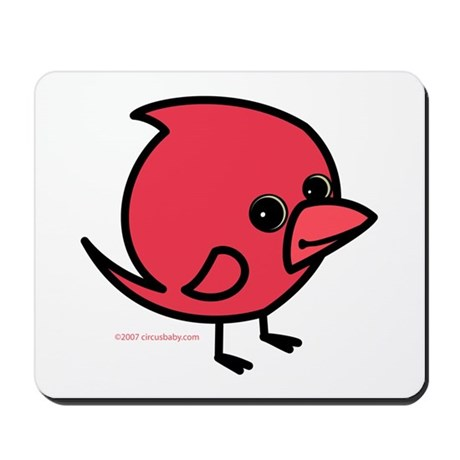 Northern Cardinal Mousepad