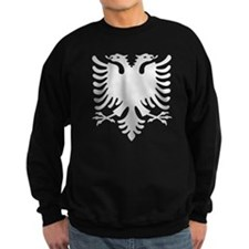 Albanian Eagle Silver 56in Sweatshirt