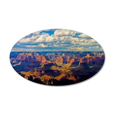 Spectacular Grand Canyon 35x21 Oval Wall Decal