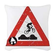 Sign_JumpHills Woven Throw Pillow