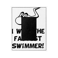Fastest Swimmer Black Picture Frame