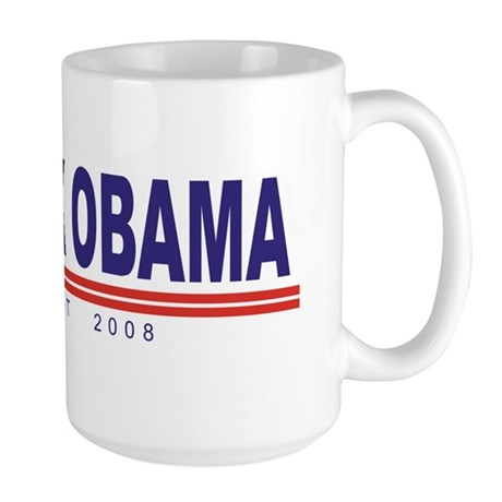 Barack Obama (simple) Large Mug