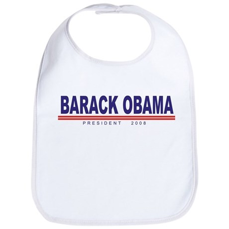 Barack Obama (simple) Bib