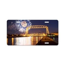 lift bridge Aluminum License Plate
