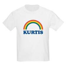 KURTIS (rainbow) Kids T-Shirt