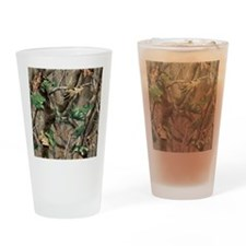 camo-swatch-hardwoods-green Drinking Glass