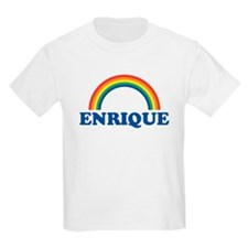 ENRIQUE (rainbow) Kids T-Shirt