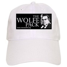 Wolfe_Pack_BW_URL Baseball Cap