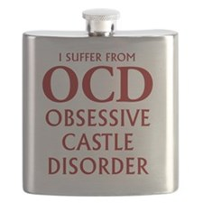 ocd4 clear red Flask