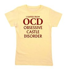 ocd4 clear red Girl's Tee