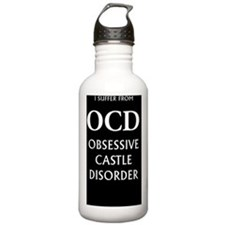 ocd3g black Water Bottle