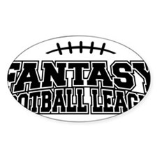 Fantasy Football League Decal