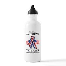 American Veterans 3 Water Bottle