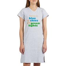 SkydiverWish Women's Nightshirt