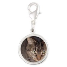 Snuggle-WC-M Silver Round Charm