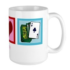 peacelovepokerwh Mug