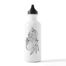 femaleNinja10x10 Water Bottle