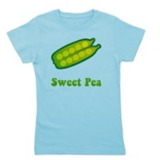 Sweet Pea Green Girl's Tee