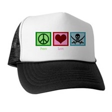 peacelovepirateswh Trucker Hat