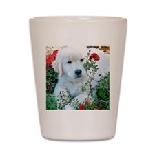 Golden Retriever Puppy Gift iPad Hard C Shot Glass