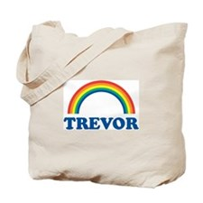 TREVOR (rainbow) Tote Bag